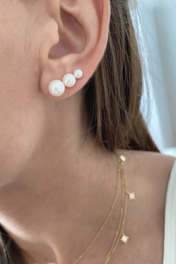 Σκουλαρίκι Μαργαριτάρι