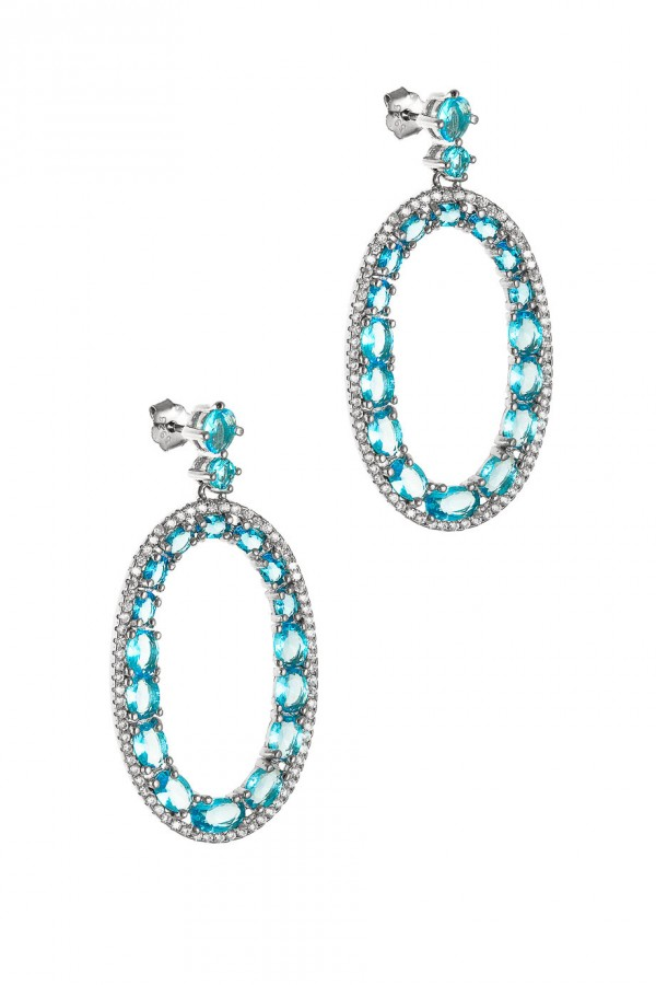 Σκουλαρίκι Blue Drops