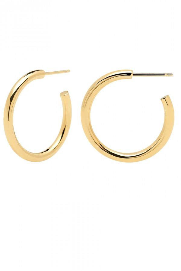 Σκουλαρίκι PD PAOLA ορείχαλκος Core Gold