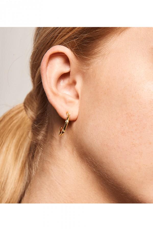 Σκουλαρίκι PD PAOLA Ασήμι Horizon Gold