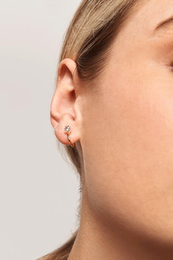 Σκουλαρίκι PD PAOLA Ασήμι Andromeda Gold