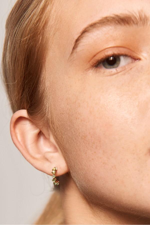 Σκουλαρίκι PD PAOLA Ασήμι Mint Bird