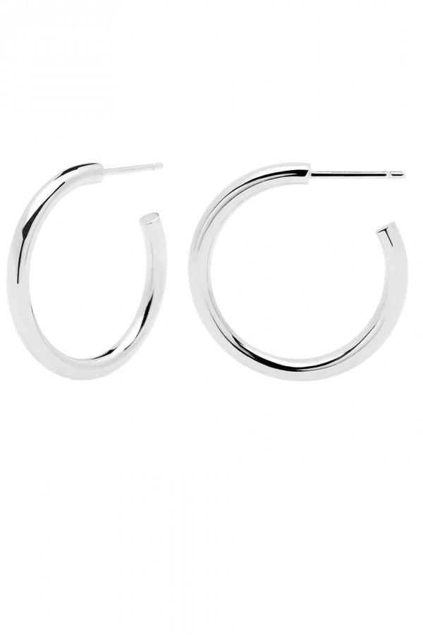 Σκουλαρίκι PD PAOLA ορείχαλκος Core Silver