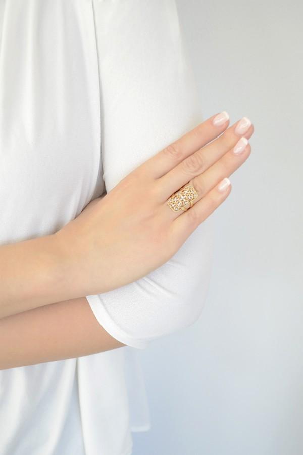 Δαχτυλίδι Διαμανταρισμένο