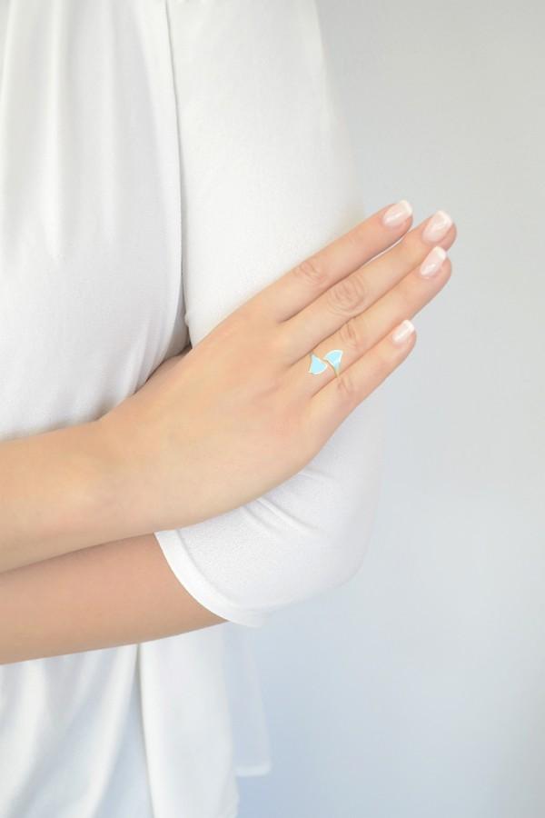 Δαχτυλίδι Blue Aura