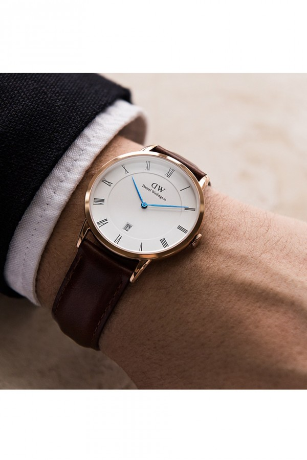 Daniel Wellington Dapper Sheffield Silver 38mm 1121DW